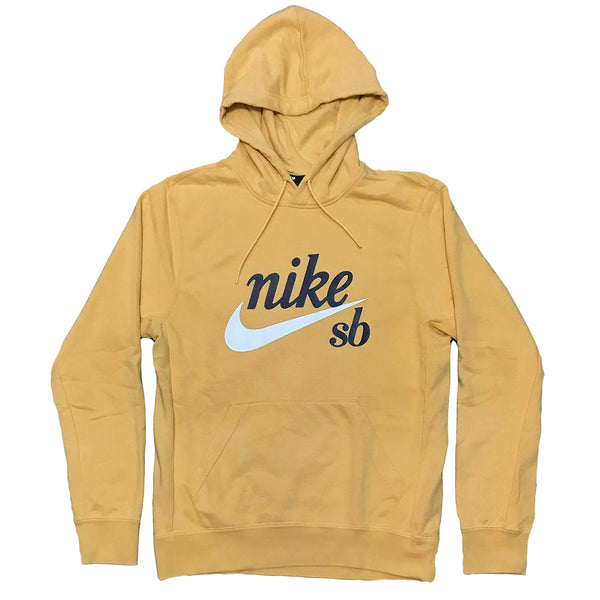 Moletom Nike SB Hodie Washed Icon - Amarelo