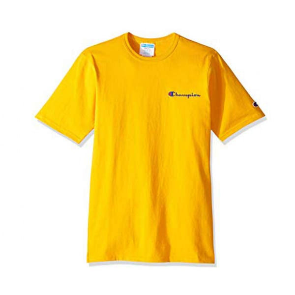 CAMISETA CHAMPION APPLIQUE YELLOW