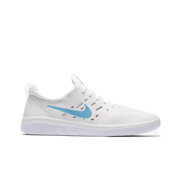 Tênis Nike SB Nyjah Free - Summit White/LT Blue Fury