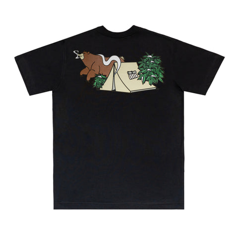 CAMISETA Ã URBAN OUTDOOR FEELINGS SHATTER BEAR PRETA