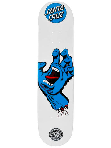 Shape Santa Cruz Screaming Hand White - 7.9""