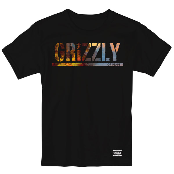 Camiseta Grizzly Scenic - Black