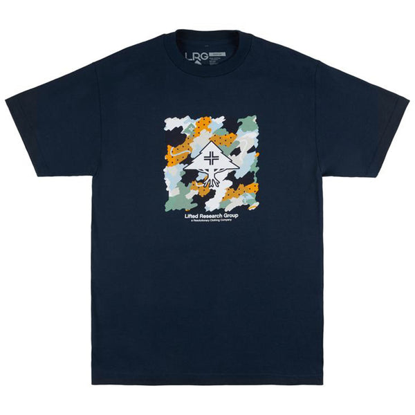 CAMISETA LRG SCRIBBLE NAVY