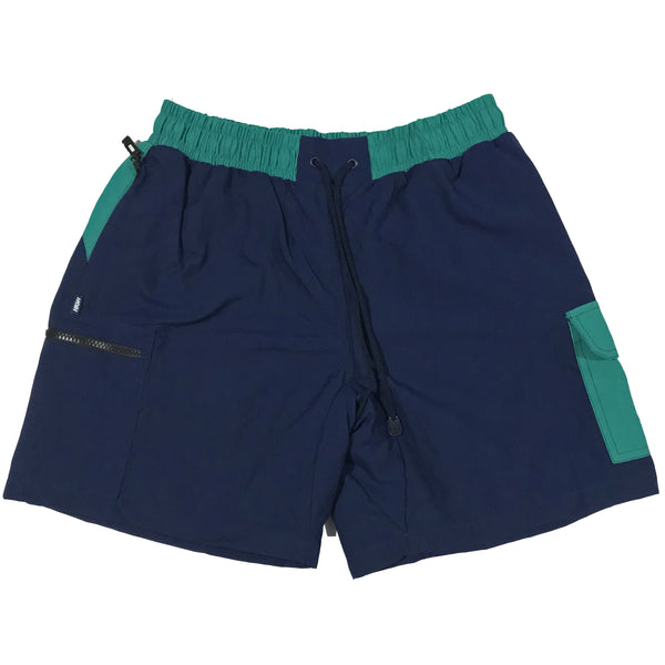 SHORTS HIGH SPORT CARGO  NAVY/GREEN