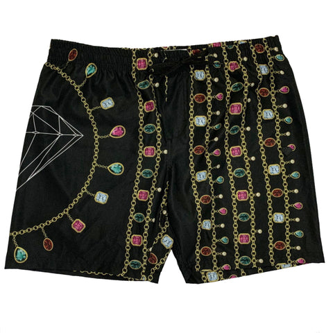 SHORTS DIAMOND CHAIN BLACK