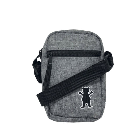 Shoulder Bag Grizzly OG Bear Classic - Cinza
