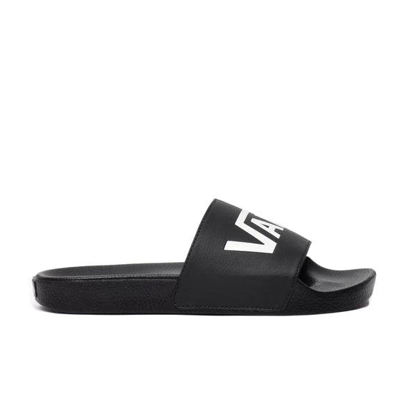 CHINELO VANS SLIDE ON PRETO/BRANCO