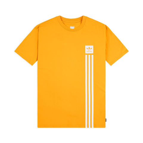 CAMISETA ADIDAS BB PILLAR - ACTIVE GOLD/WHITE