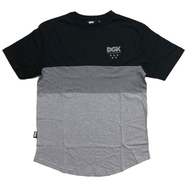 CAMISETA DGK TACTICS BLACK/GREY