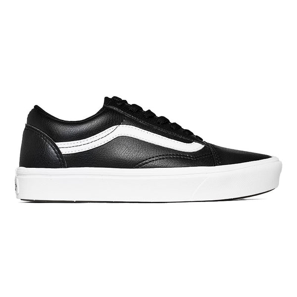 TÊNIS VANS OLD SKOOL (CLASSIC TUMBLE) COMFYCUSH BLACK/WHITE
