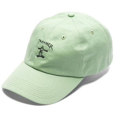 Boné Thrasher Dad Hat Gonz Old Timer - Verde