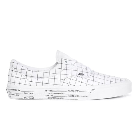 TÊNIS VANS ERA U-COLOR CHECKERBOARD TRUE WHITE
