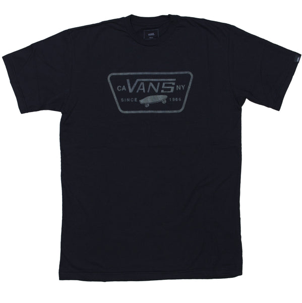 Camiseta Vans Full Patch Variat - Preto