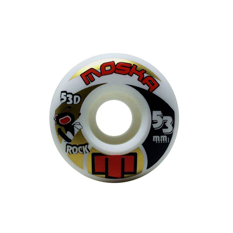 RODA MOSKA WHITE ROCK - 53MM