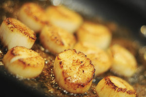 Pan-seared Sea Scallops with Lemon Chive Butter