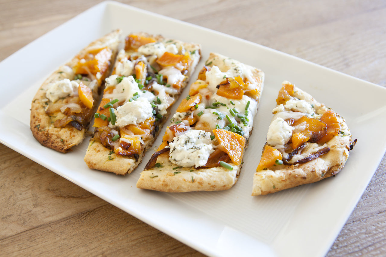 Goat Cheese & Butternut Squash Flatbread