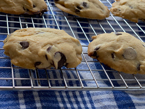 Moo-ey Gooey Maple Chocolate Chip Cookies