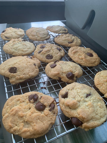 Casco Bay Creamery Grilled Chocolate Chip Cookies