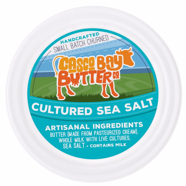 Cultured Sea Salt Butter