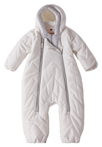 Baby Overall/ Schlafsack Nalle Off white