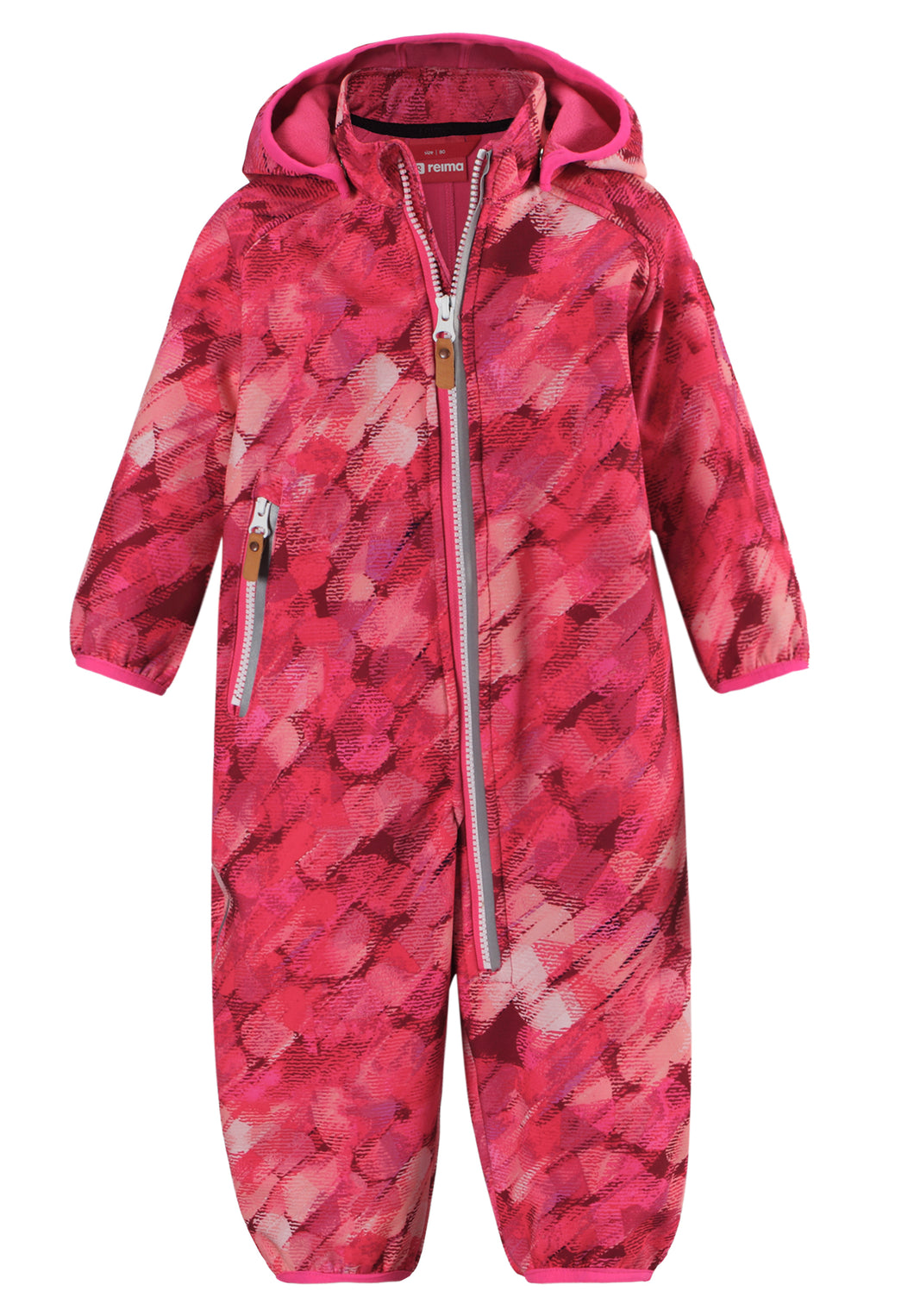 Kleinkinder Softshell Overall Kotilo Candy Pink