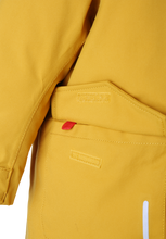 Laden Sie das Bild in den Galerie-Viewer, Kleinkinder WInterjacke Mutka dark yellow