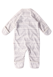 Baby Fleeceoverall Laulu Light grey