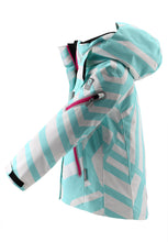Laden Sie das Bild in den Galerie-Viewer, Reimatec Kinder Winterjacke Roxana in light turquoise