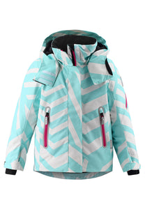 Reimatec Kinder Winterjacke Roxana in light turquoise