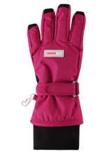 Laden Sie das Bild in den Galerie-Viewer, Reimatec Kinder Winter Handschuhe Tartu Cranberry Red
