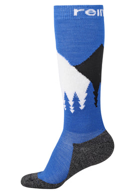 Reima Kinder Stricksocken Ski Day Brave Blue
