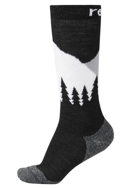 Reima Kinder Stricksocken Ski Day Black