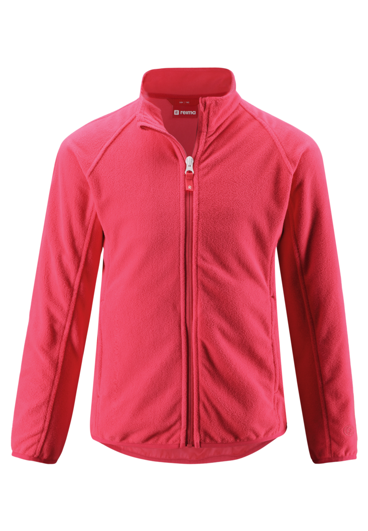 Kinder Fleecejacke Alagna Strawberry Red