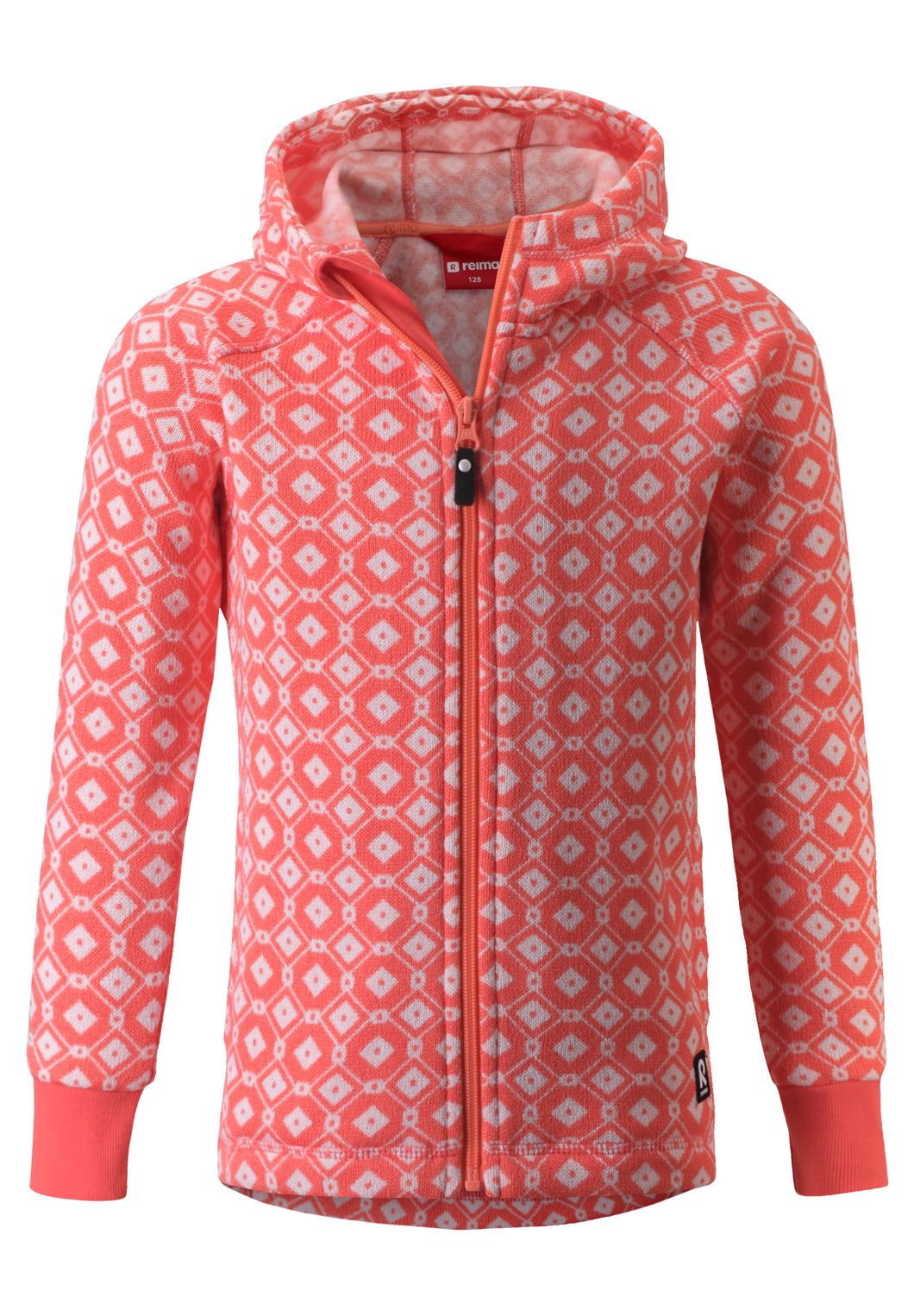 Reima Kinder Kapuzenjacke Northern Bright Salmon