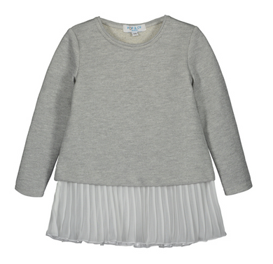 POP&Co Carrie Dress Grey