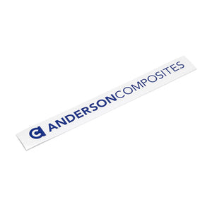 "Anderson Composites 10"" Decal"