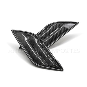 Anderson Composite 2017-2019 Ford Raptor Type-OE Carbon Fiber Fender Vents (Pair)