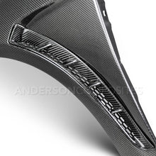 Anderson Composite 2016-2018 Ford Focus RS Carbon Fiber Fenders (Pair)