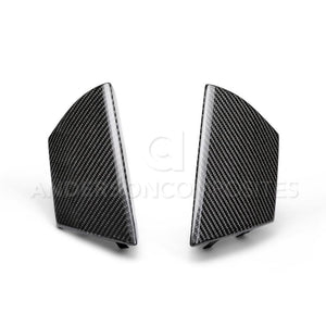 Anderson Composite 2015-2018 Mustang Shelby GT350 Carbon Fiber Front Upper Grille Inserts