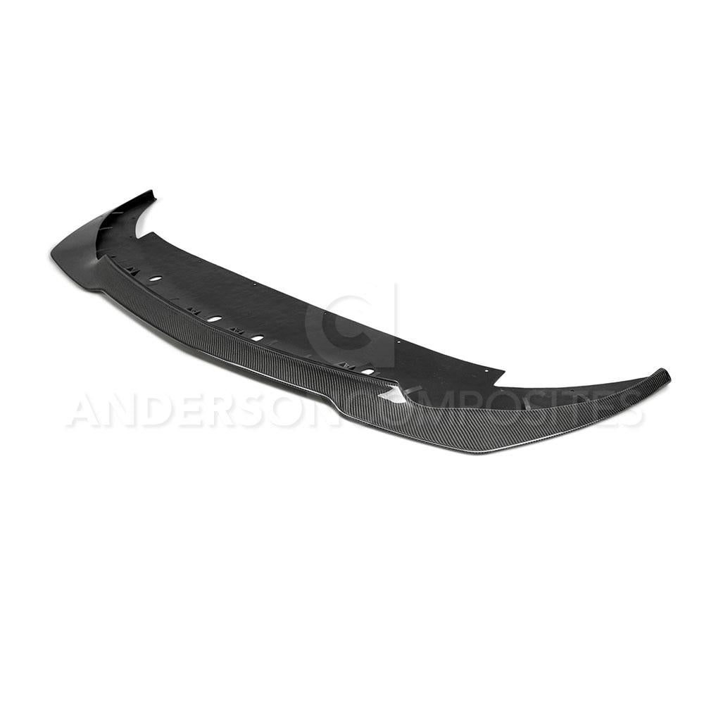 Anderson Composite 2015-2018 Mustang Shelby GT350R Carbon Fiber Front Splitter (1 PC)
