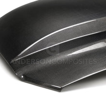 Anderson Composite Type-CJ carbon fiber cowl hood for 2013-2014 Ford Mustang
