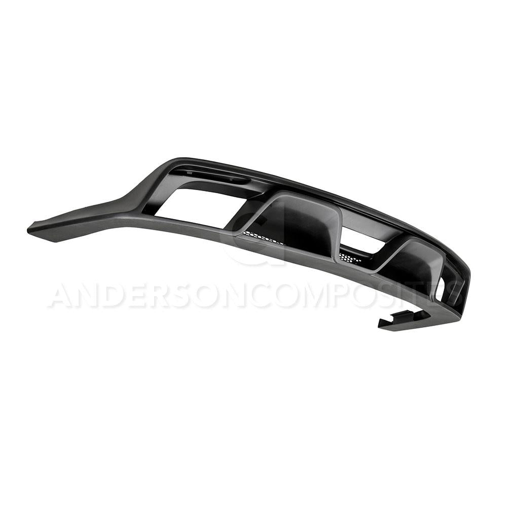 Anderson Composite 2015-2017 Mustang GT350 Style Fiberglass Rear Diffuser