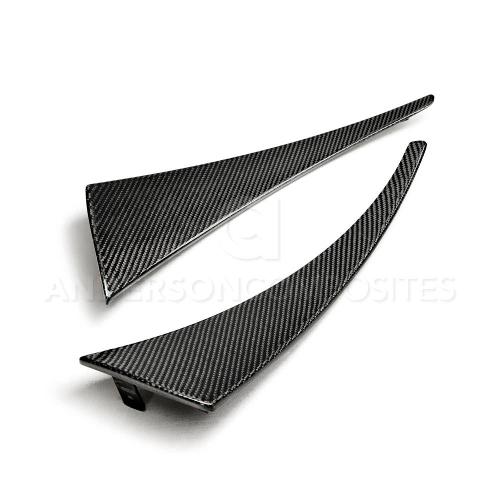 Anderson Composites Rear Mud Guards (Carbon Fiber) - Corvette C7 (14-18)