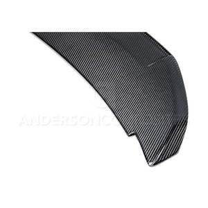 Anderson Composite 2010-2014 Mustang Shelby GT500 Carbon Fiber Rear Spoiler