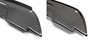 Anderson Composite 2015-2019 Mustang Carbon Fiber Track Pack Style Spoiler with Adjustable Wicker Bill