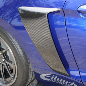 Anderson Composite 2015-2020 Mustang Carbon Fiber Side Scoops (Pair)