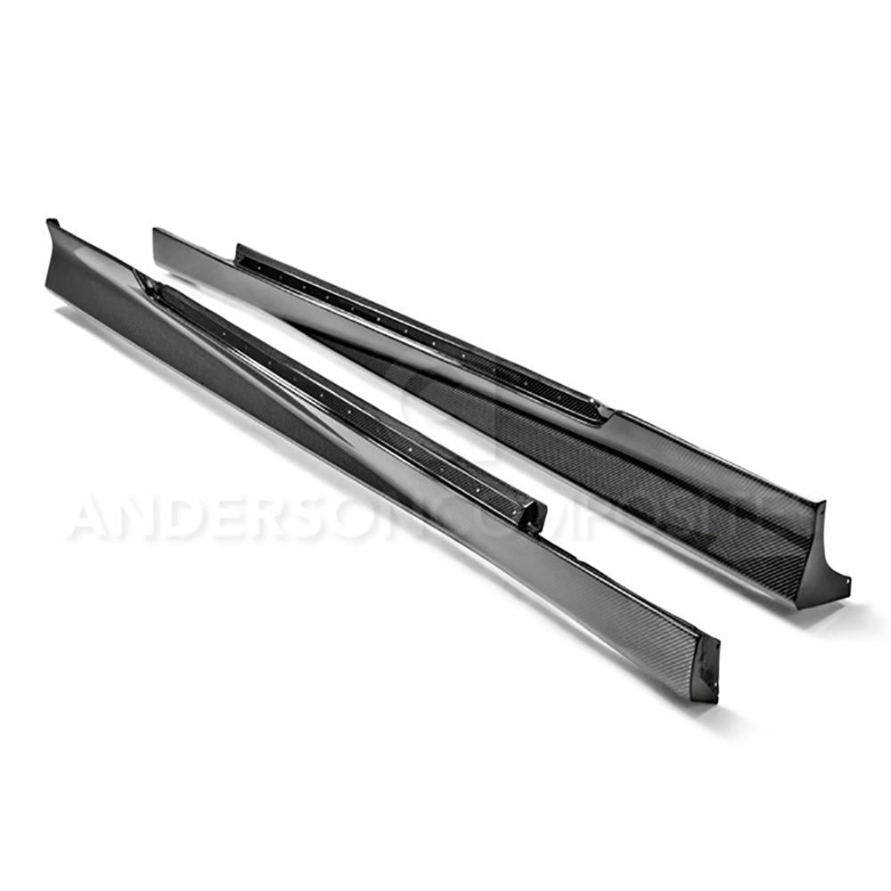 Anderson Composite 2010-2013 Camaro Type-OE Carbon Fiber Side Rocker Panels