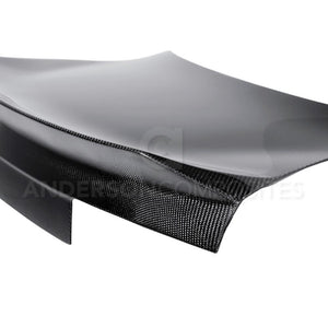 Anderson Composite 2010-2013 Camaro Type-ST Carbon Fiber Trunk With Integrated Spoiler