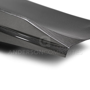 Anderson Composites 2016-2019 Camaro Carbon Fiber Double Sided Decklid with Integrated Spoiler