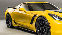 Competition Carbon Side Skirt Rocker Extensions (Carbon Fiber) - Corvette C7 Z06 / Grand Sport